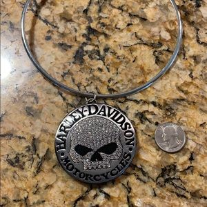 Authentic Harley Davidson skull necklace !!!